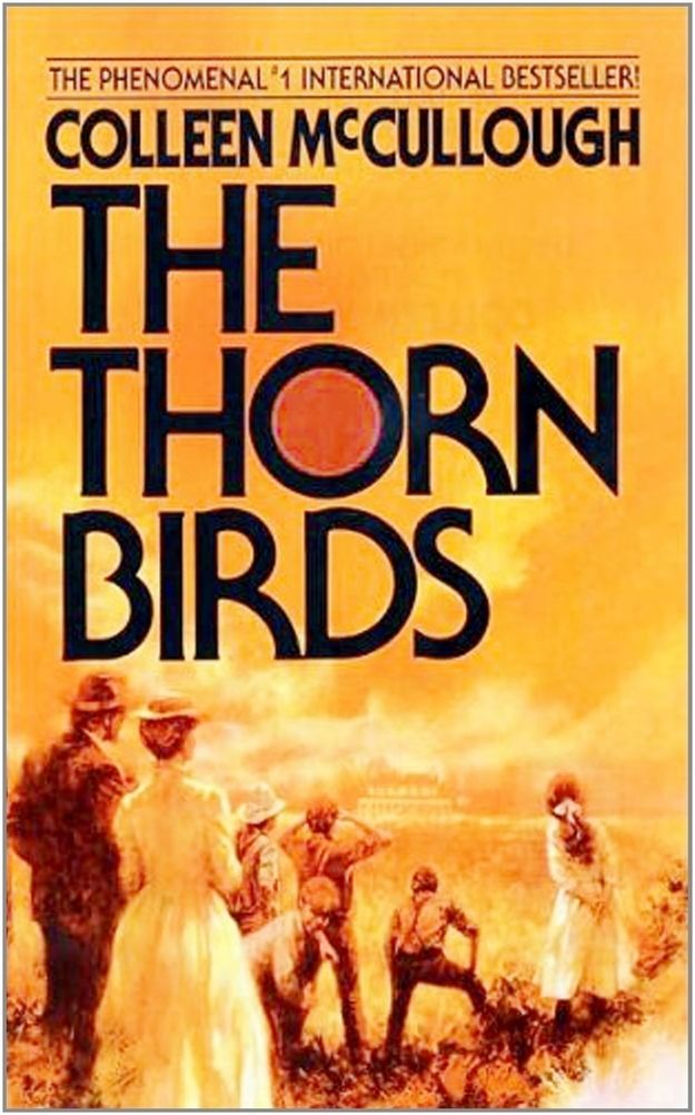 The Thorn Birds | 50 Australian Books To Read Before You Die