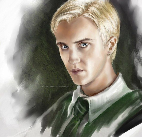 I ❤️ Draco Malfoy even though everyone else THINKS he is evil.