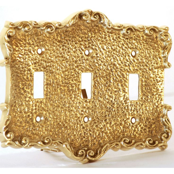 36 best Brass Switch Plates - Decorative Wall Plates images on ...