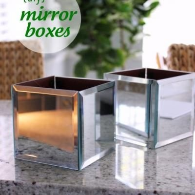 Dollar Store Diy Mirror Boxes For Home Decor Diy Pinterest What To Do Wedding Mirror And