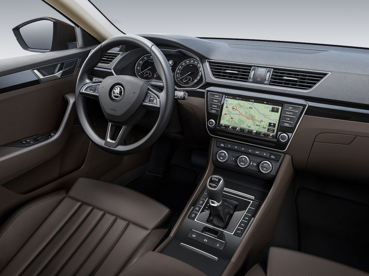 Skoda superb 2016 interior