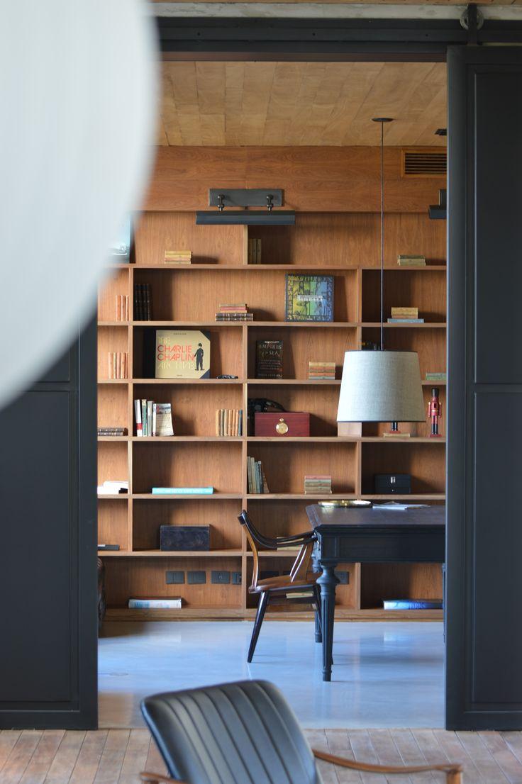 Arquitectura - Paisajismo - Ricardo Pereyra Iraola - Buenos Aires - Argentina - Casa - Biblioteca - Detalles - Decoración - Escritorio