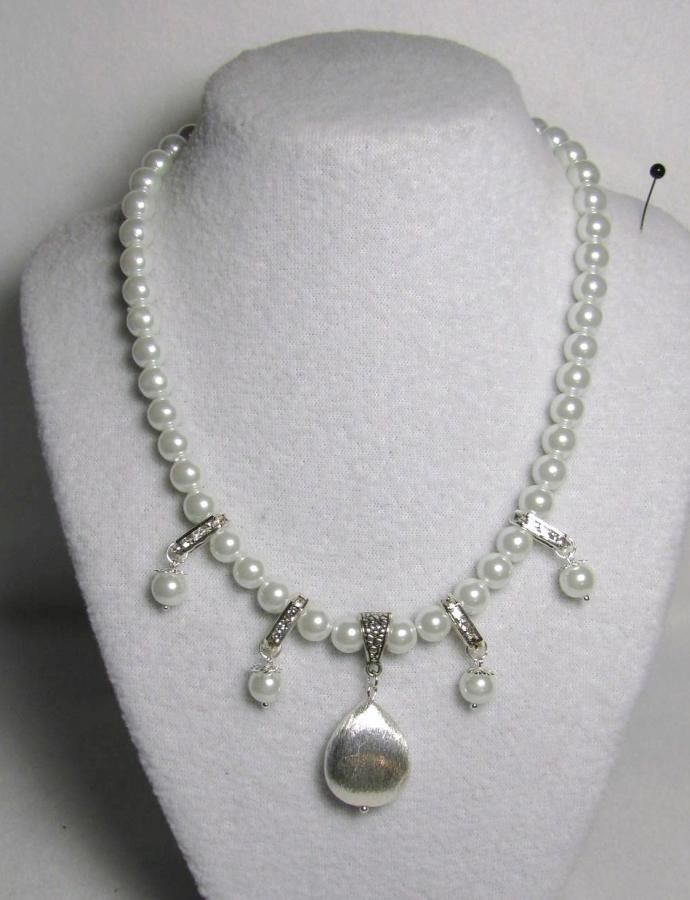 Pearlized  - Jewelry creation by Linda Foust