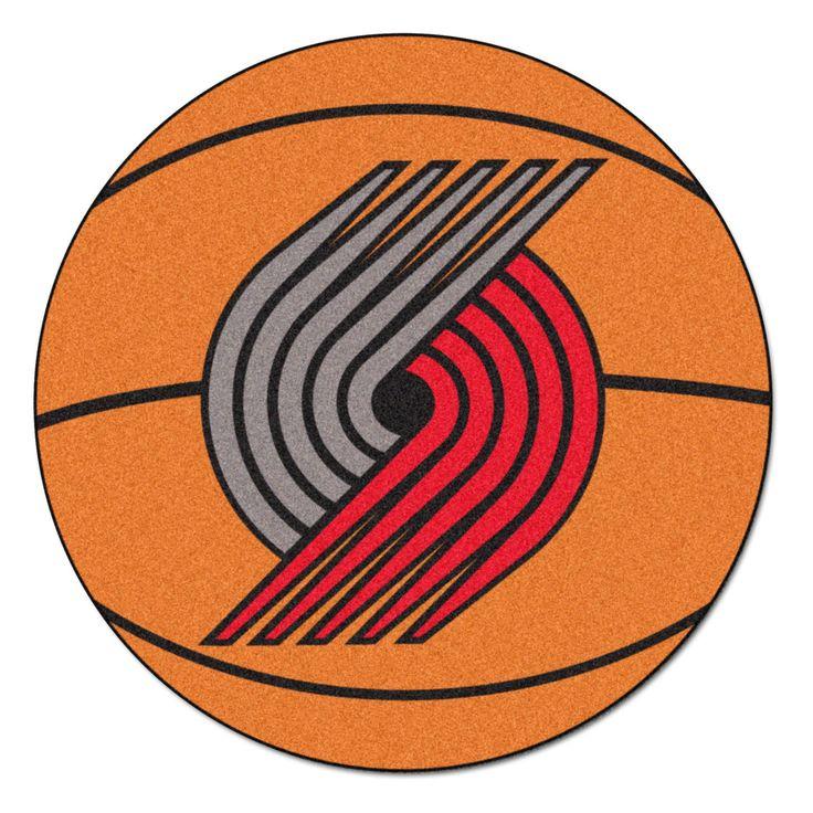 NBA Portland Trail Blazers Basketball Mat 27 Diameter