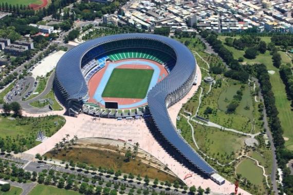 World Games Stadium - Taiwan  Estádio dos Jogos Mundias - Tailândia.    Projecto de Toyo Ito, Prémio Pritzker da Arquitectura 2013.