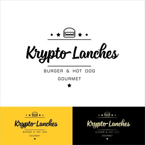 Krypto Lanches 鈥?20create a logo for company that will sell snacks and sandwich and hot dog in carts