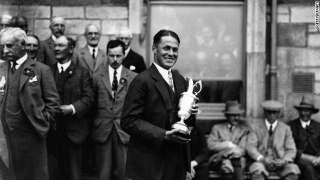 Sep 27, 1930: Bobby Jones wins U.S. Amateur title http://i2.cdn.turner.com/cnn/dam/assets/120328035322-golf-jones-horizontal-gallery.jpg, #golf #BobbyJones