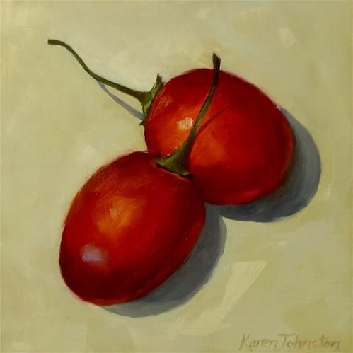 An analysis of janet greens still life with tamarillos