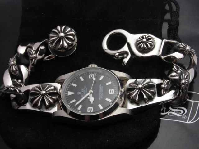 ROLEX EXPLORER X CHROME HEARTS #watches #rolex #chromehearts #wristwatch