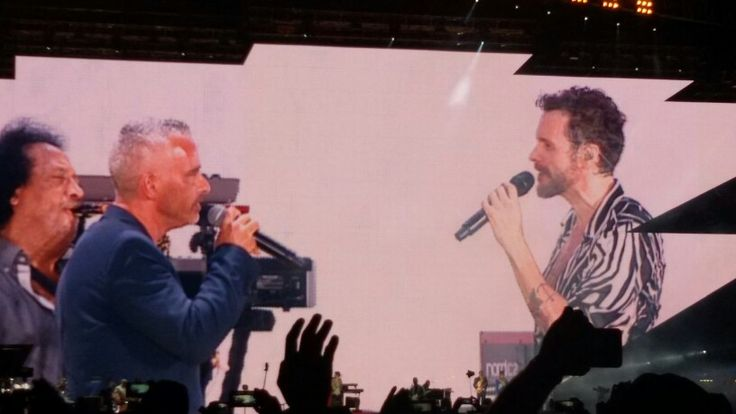 Jovanotti ramazzotti senese concerto napoli 26/07/2015