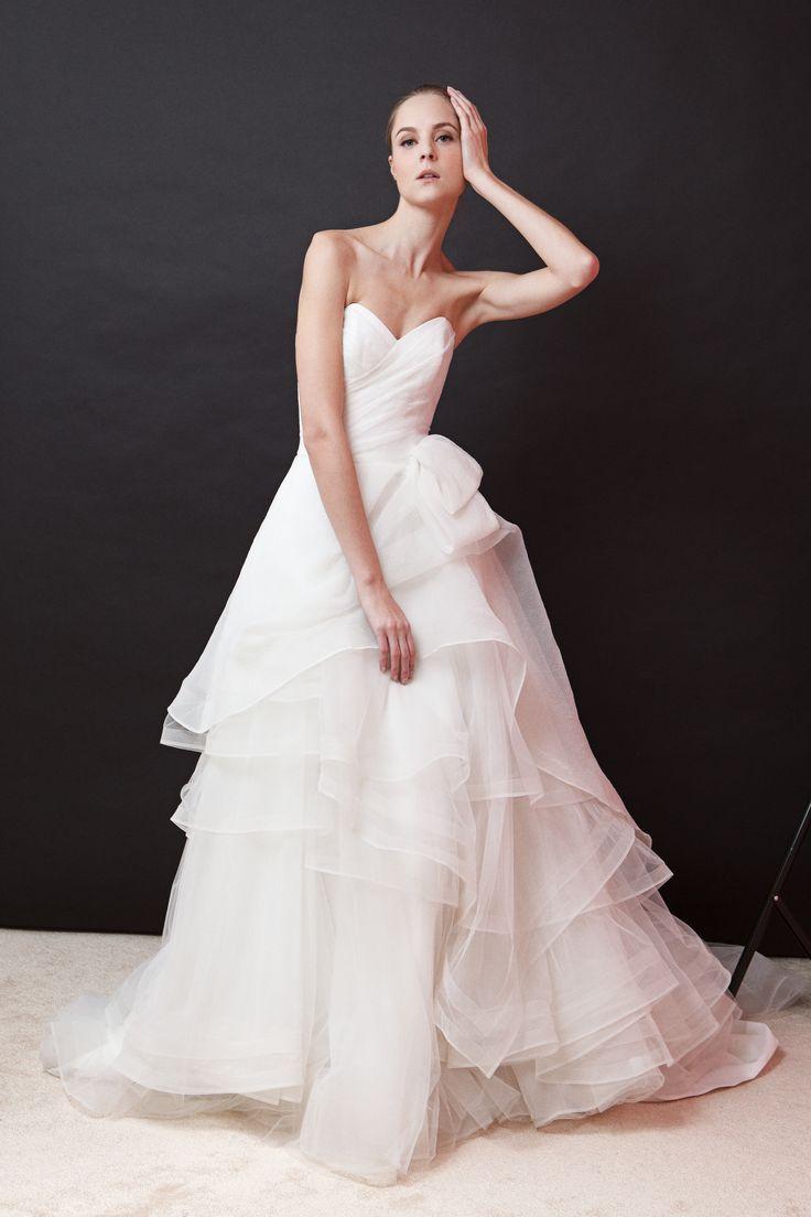 Love the layering!!! Olivia dress from BECCAR 2015 Bridal