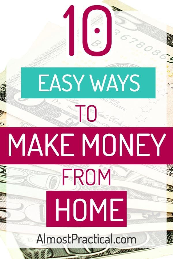 Make Money From Home 10 Easy Ways How To Make Money Make Money From Home Money From Home