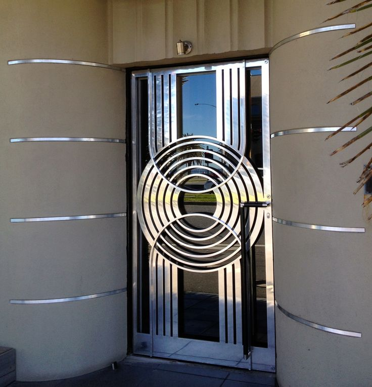 The Door at the Pier Hotel Port Melbourne Art Deco WOW