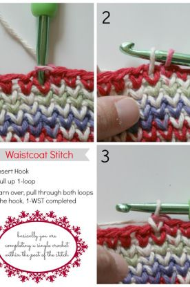 An Old Crochet Stitch, Done in a New Way