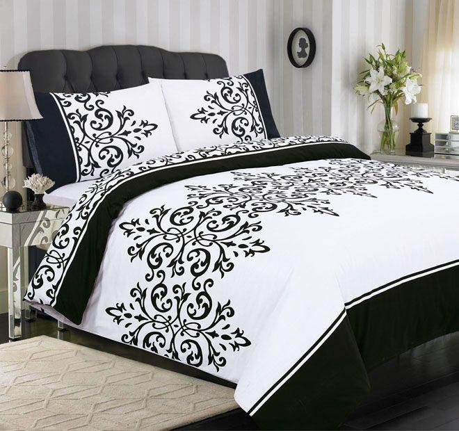 Apartmento Dominique Quilt Cover Range Black and White