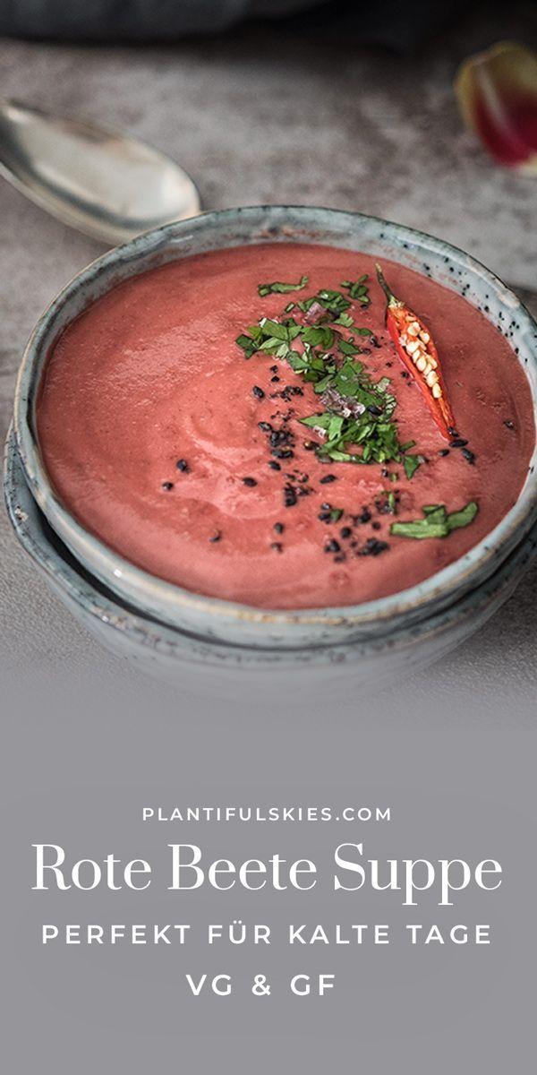 Ayurvedische Rote Beete Suppe mit Kokosmilch – happy.mood.food  – Veganer Foodblog für seelische Gesundheit Modern Ayurveda | Makrobiotik | Rawfood