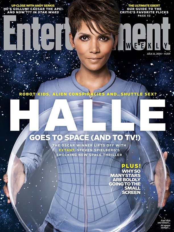 This week's cover: Halle Berry lands on 'Extant'           http://popwatch.ew.com/2014/06/30/extant-halle-berry-cover/     http://www.bustle.com/articles/29950-halle-berrys-extant-salary-is-pretty-steep-but-shes-worth-paying-the-big-bucks