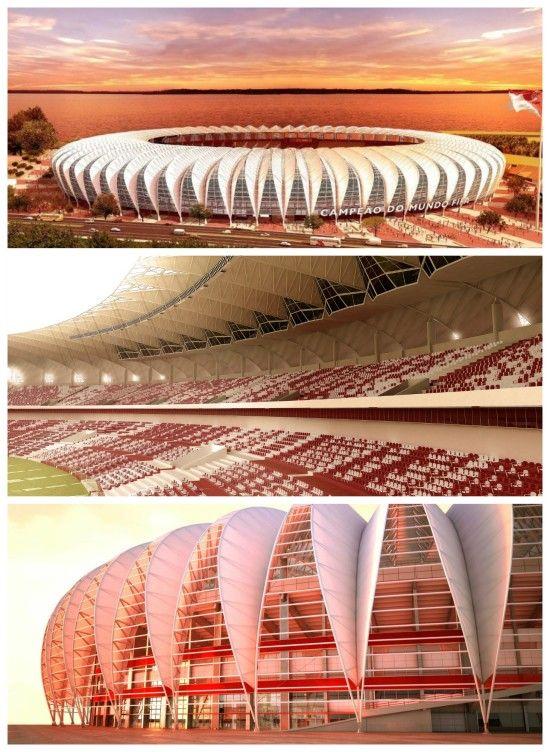 Beira Rio Stadium . Rio Grande do Sul State, Porto Alegre city