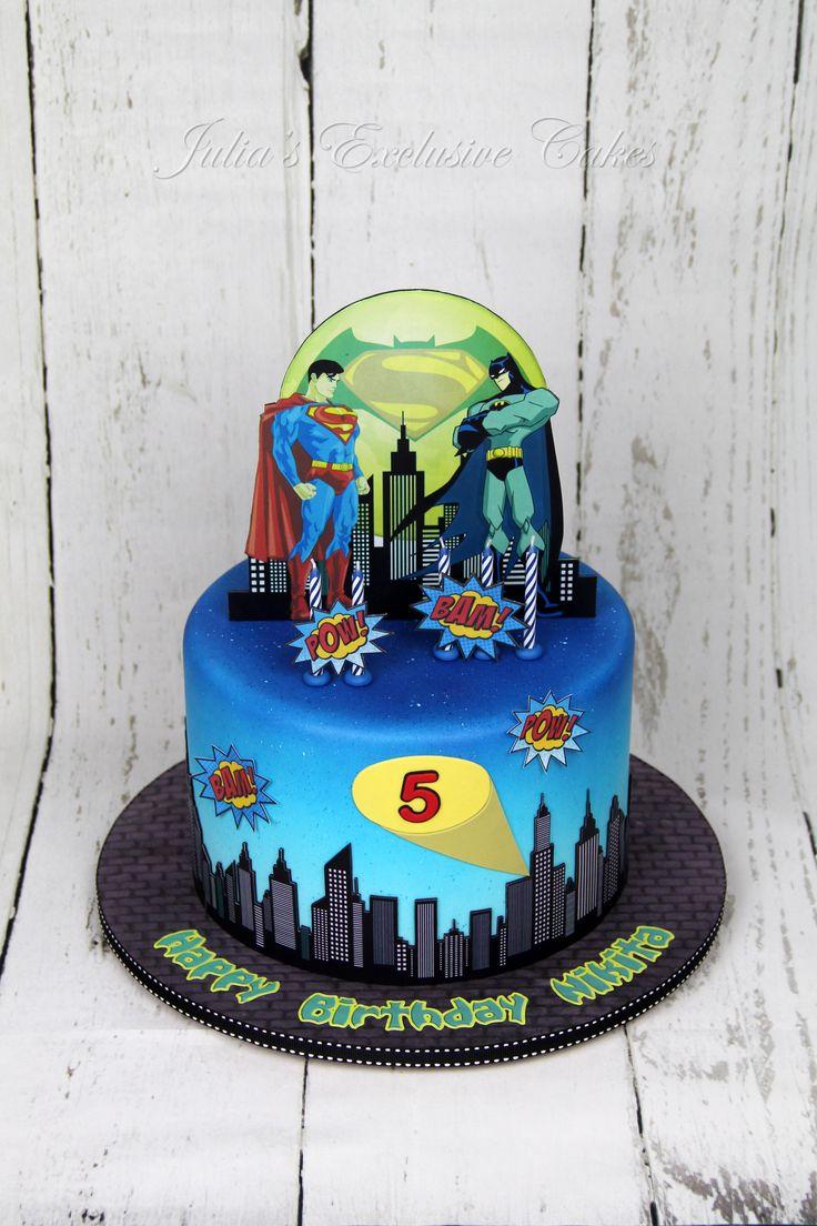 25 Best Ideas About Superman Birthday Cakes On Pinterest