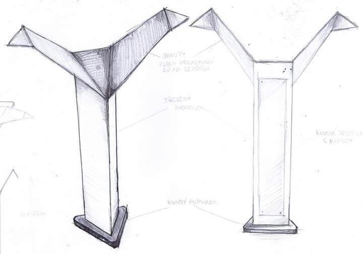 Návrh na cenu Finále - skica