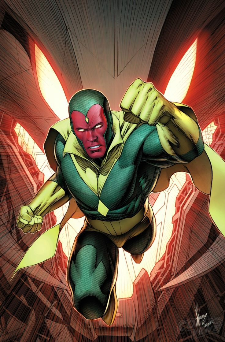 Exclusive First Look: VISION #8 - Comic Vine