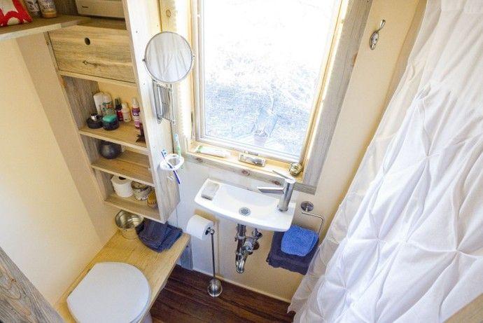 sehr klein winzige Mini-Projekthaus sinken die Größe eines kleinen Schlafzimmer-Designs von Alek Lisefski