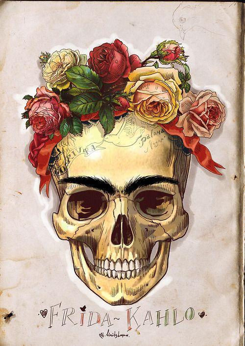 Mi sangre es un milagro que desde mis venas cruza el aire de mi corazón al tuyo...  Frida Kahlo