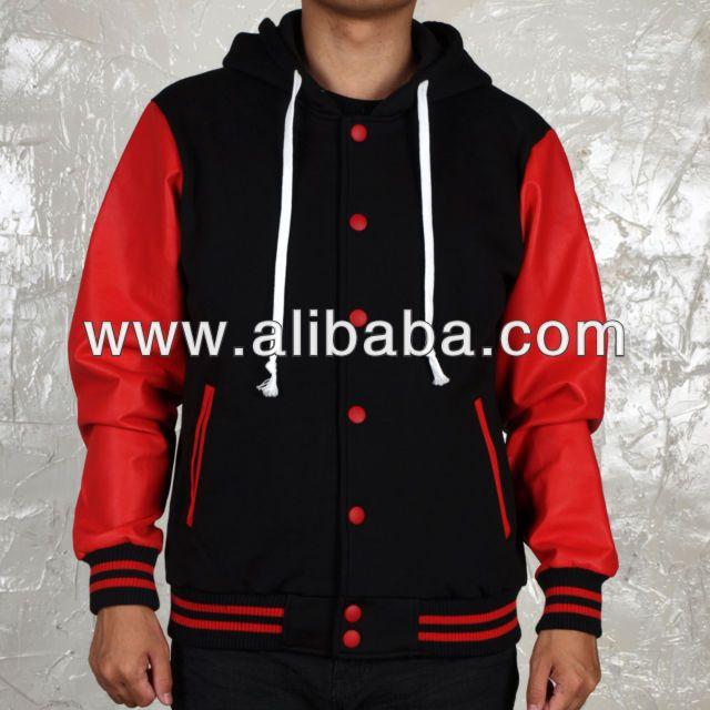 Custom Varsity Jackets With Hood / Letterman Jackets With Hood $10~$35
