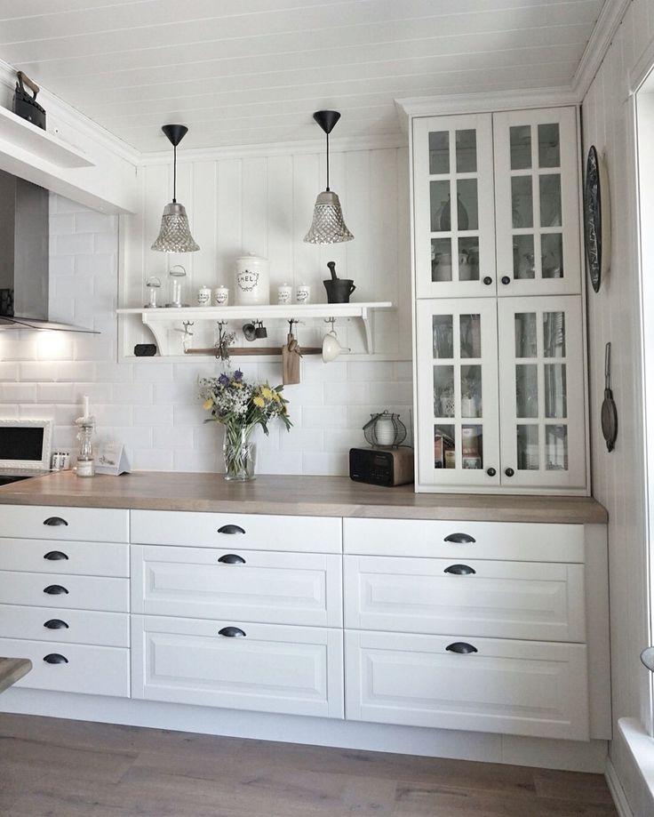 Küche Landhausstil Weiß Ikea Unique Die Besten 25 Ikea Küche Landhaus Ideen Auf Pinterest mit ...