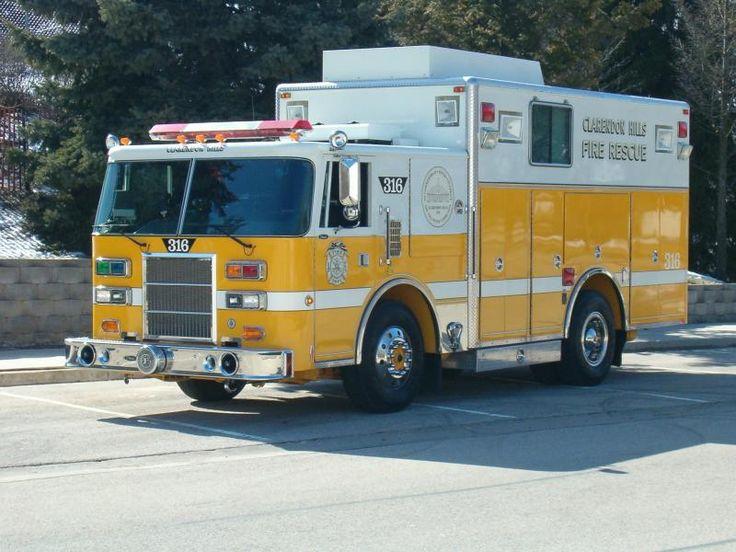 Clarendon Hills Fire Department, Heavy Rescue #316