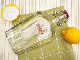 Domowy zielnik: Sprzątanie bez chemii- ocet spirytusowy