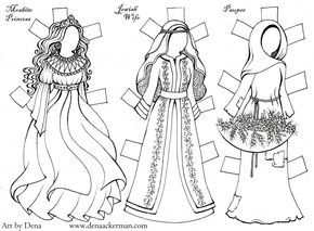 Ruth Paper dolls (2)