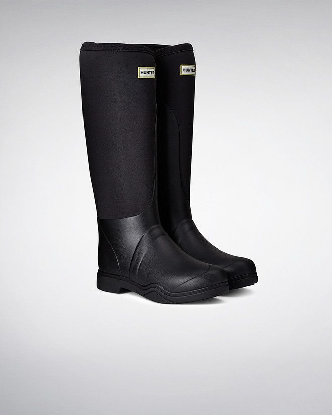 Balmoral Equestrian Neoprene Stretch Rain Boots...has reinforced sole, so you can actually ride in them!!!