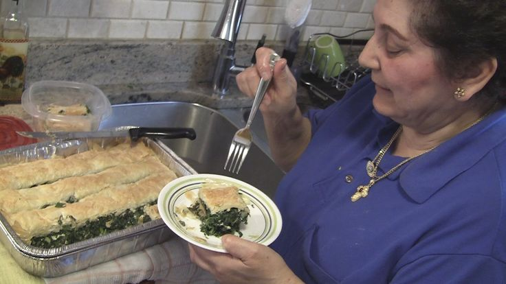 Angelo's Mom Makes Spanakopita (Greek Spinach Pie)