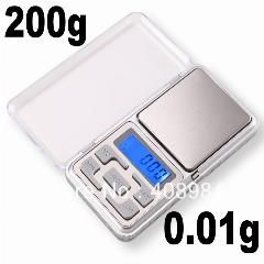 [ $540 OFF ] By Dhl/fedex 200Pcs/lot  200G X 0.01G Mini Digital Electronic Lcd Display Jewelry Pocket Gram Scale