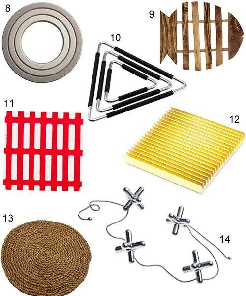 Teak Trivets Alessi Trivet Modern Trivet Japanese Trivet