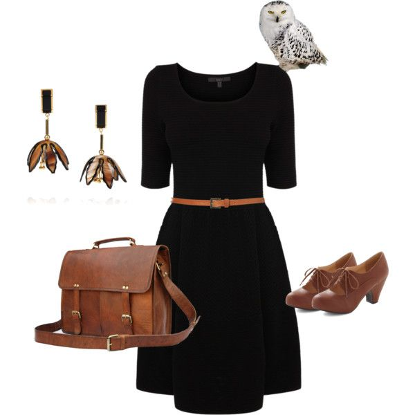 """With an owl on it"" by laurenasia on Polyvore 