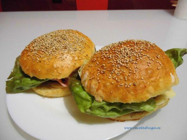 Pan de hamburguesa recipe roman recetas and lyon for Cama hamburguesa