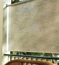 Sunblock shade 9 for back patio or porch - privacy and sun block