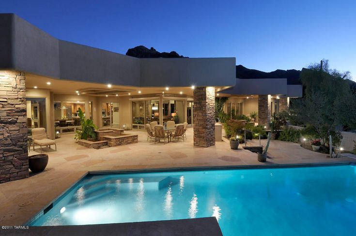 Exceptional Modern Luxury Homes And Contemporary Luxury Homes The Tucson Luxury Homes  Market My Dream House Pinterest Luxury Houses Luxury And House