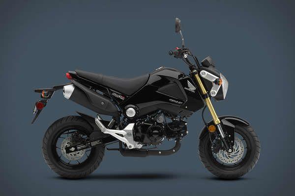 Street-Legal Stunt Bikes. The Honda Grum. Fun!