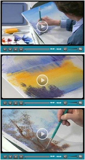 94 Free Do It Yourself Beginning Artist Videos - Jerry's Artarama lets you enjoy eight hours worth of free, easy, five minute how-to videos for beginners at drawing, watercolors, acrylic painting and working with pastels. The lessons cover all of the basics. They are all by talented professional artists who share their tips and techniques. (Photo: Beginning artist video demonstrations by Susan Scheewe) Just click through to see how you can learn while watching your favorite videos.