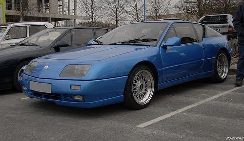 Alpine Renault GTA V6 turbo