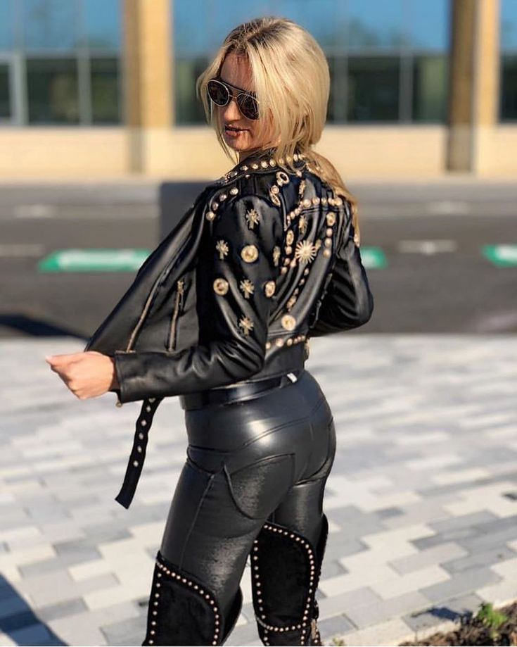 Pin auf Leather Pants
