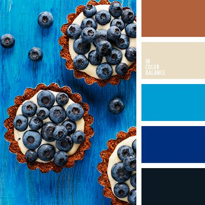 blueberry color palette