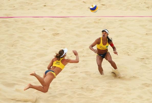 London 2012 Women's Beach Volleyball- Team Brazil by NowPublic Staff