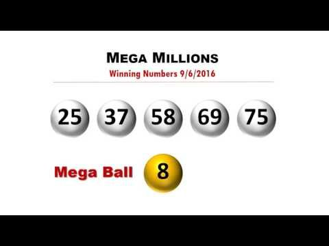 Mega Millions Winning Numbers Tuesday 9/6/2016; jackpot to $111 Million - (More info on: https://1-W-W.COM/lottery/mega-millions-winning-numbers-tuesday-962016-jackpot-to-111-million/)