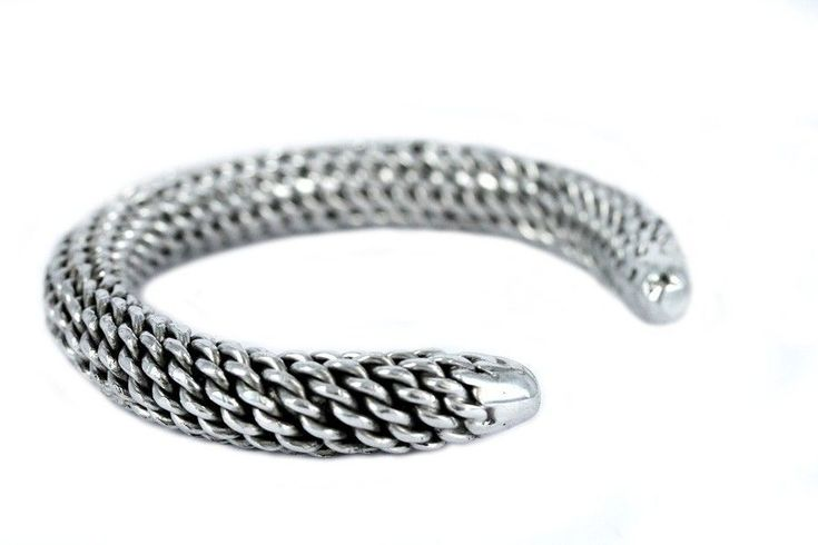"""""""Bracelet Tribal Chin""""-Bracelet ethnique argent pas cher"""