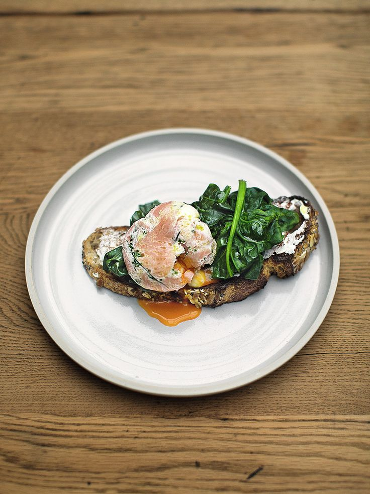 Herby Smoked Salmon Poached Eggs | Jamie Oliver | Family Super Food