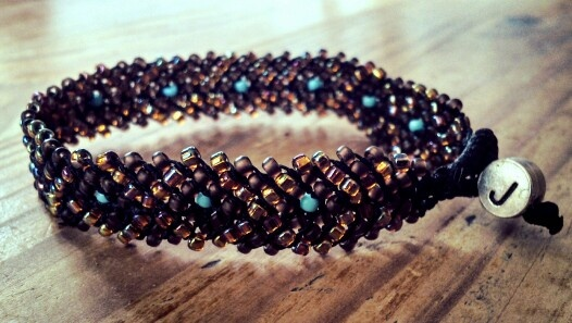 100% made by Joon :) #jewellery #bracelet #beads